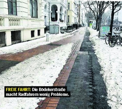 hannovercyclechic np radweg ohne probleme gross