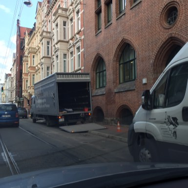 hannovercyclechic blockade radweg falkenstraße