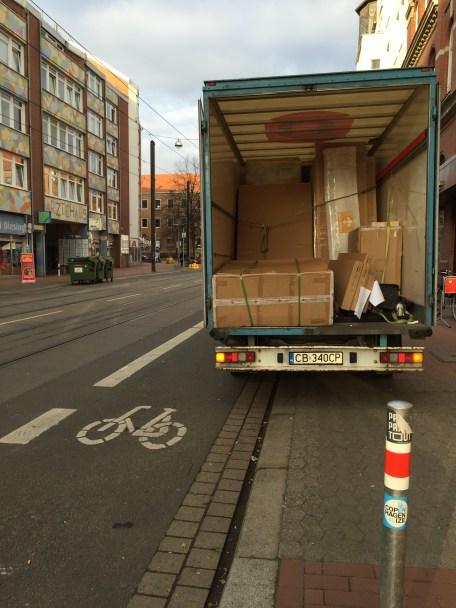 hannovercyclechic radweg behinderung falkenstraße 1