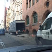 hannovercyclechic radweg behinderung falkenstraße 3