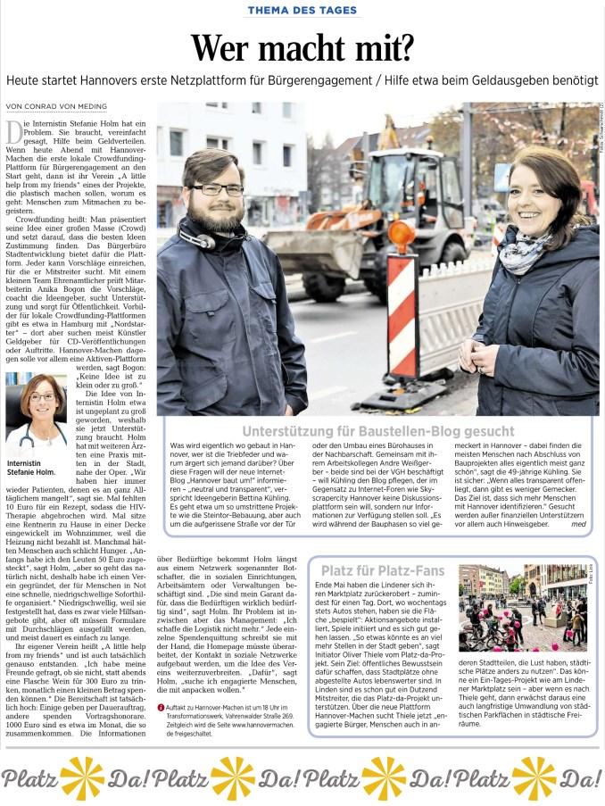 platzda-artikel-in-der-haz-zu-hannovermachen