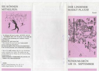 hannovercyclechic flugblatt 1993 zum lindener markt 2