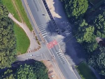 hannovercyclechic-er- standard von radwegefurten in hannover vorher Luftbild