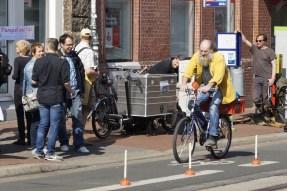 Pömpel und Pedale Eine PlatzDa!-Aktion für mehr Sicherheit Senior auf dem Rad