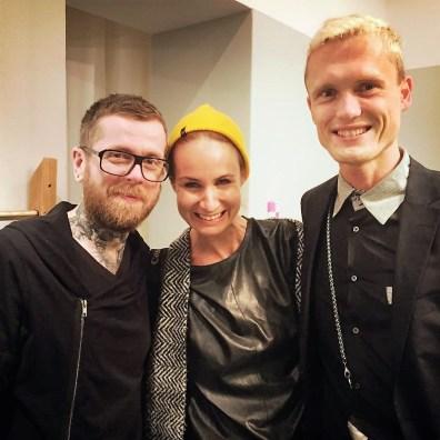 Posen mit Pierre Heinemann und Luisa Verfürth.