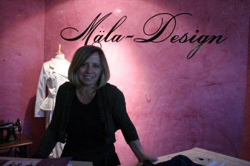 Mäla Kreativchefin Melanie Hertle.