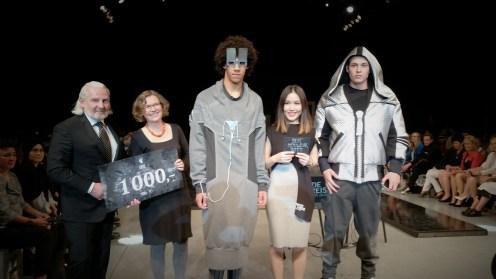 """Die Menswear-Kollektion """"Smombie"""" von Thi Hien Nguyen gewann den vom Herrenausstatter Lo&Go gestifteten Preis für das beste Herren-Outfit."""