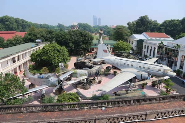 travel hanoi Military History Museum of Vietnam