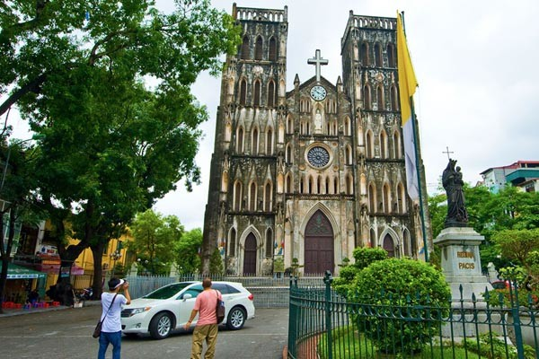 travel hanoi Saint Joseph Cathedral