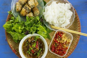 Bún Chả (Barbecued Pork with Rice Vermicelli)