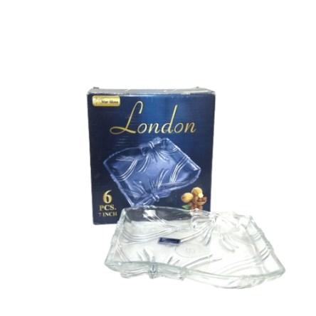 """صحن زجاجي 7إ """"StarGlass-London"""""""