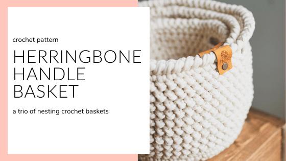 crochet basket, basket pattern, crochet home decor, home decor pattern