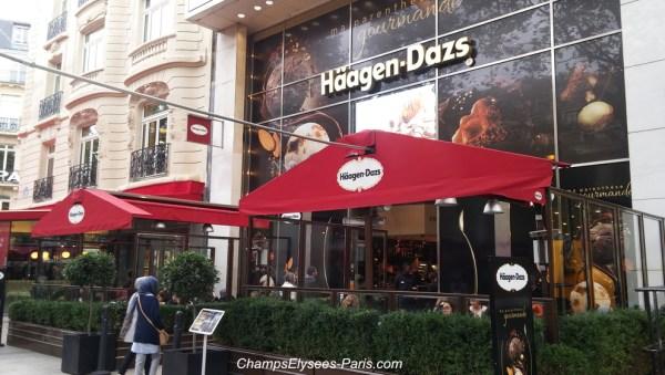 Haagen Daz, Champs Elysee, Paris