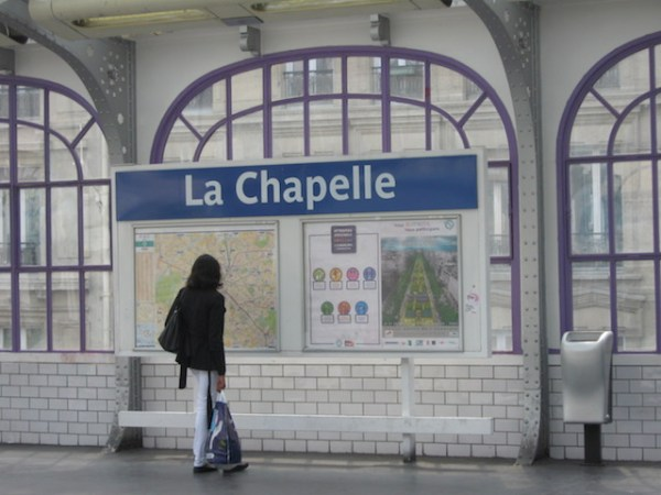 La Chapelle, Ligne 2 Paris