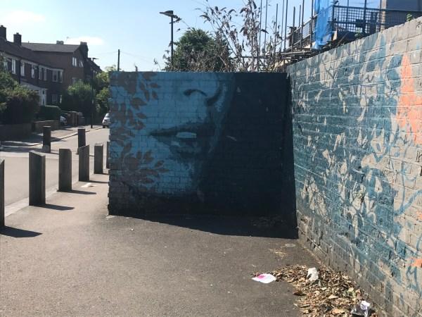 Random but beautiful street art