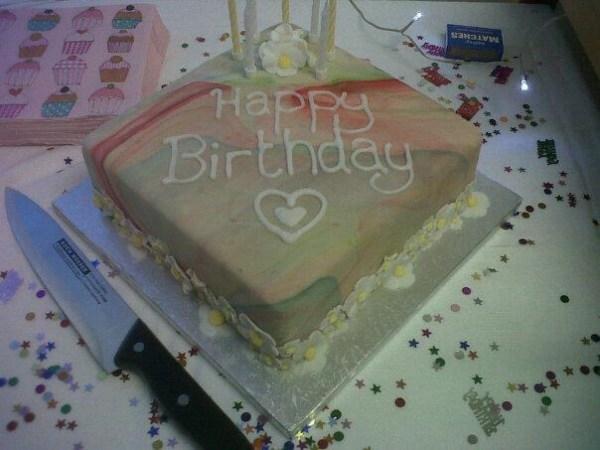 Birthday Cake by Becca