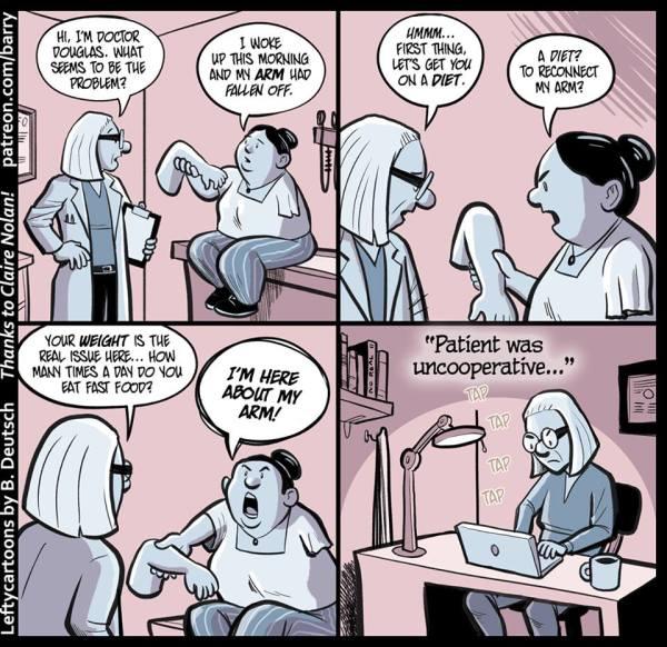 Arm from Lefty Cartoons