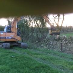 Excavator Mulching