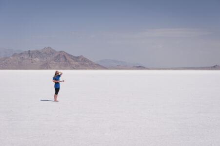 Bonville Salt Flats Alleen