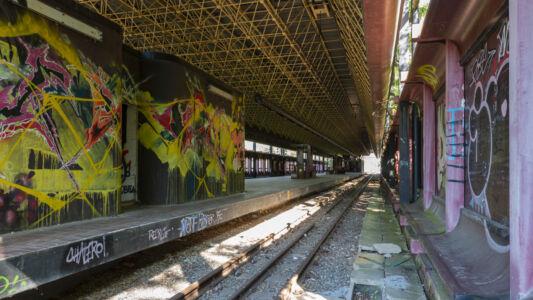 Verlaten Metro Charleroi 2019-1