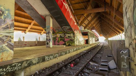Verlaten Metro Charleroi 2019-8