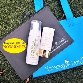 5. Combo Set = CC + Cleanser (FREE Recycle Bag + Care Pouch (Black))