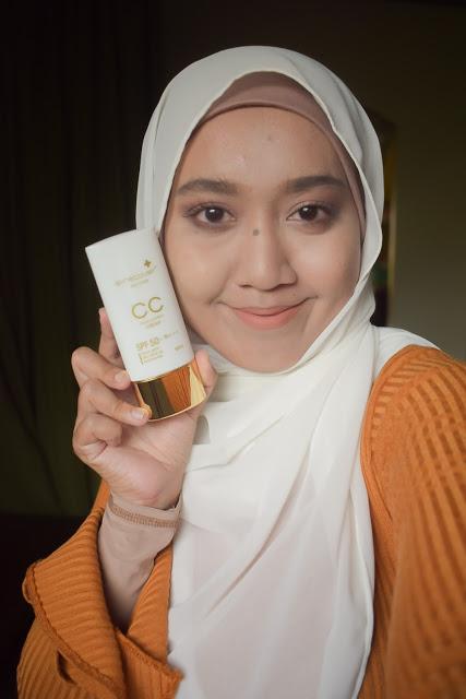 CC Cream setelah makeup