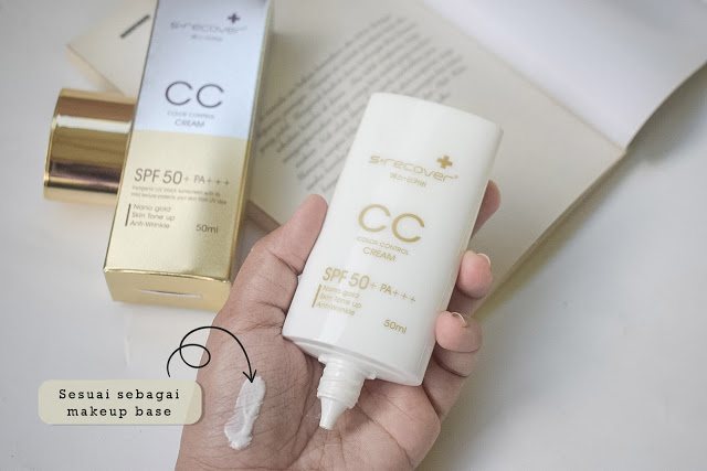 Hansaegee CC Cream sebagai make up base