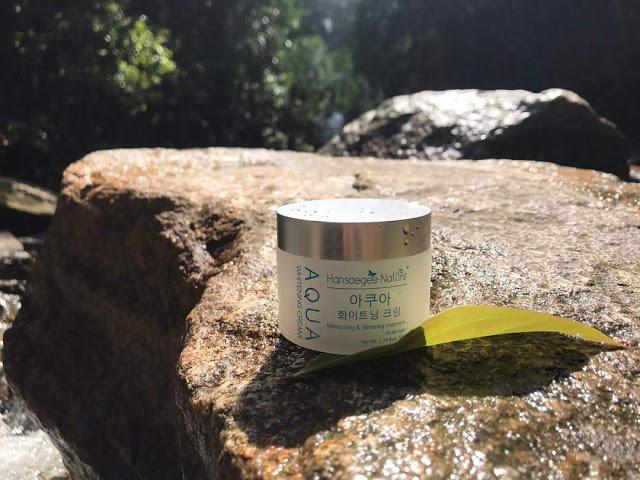 Pelembab Muka Aqua Whitening Cream