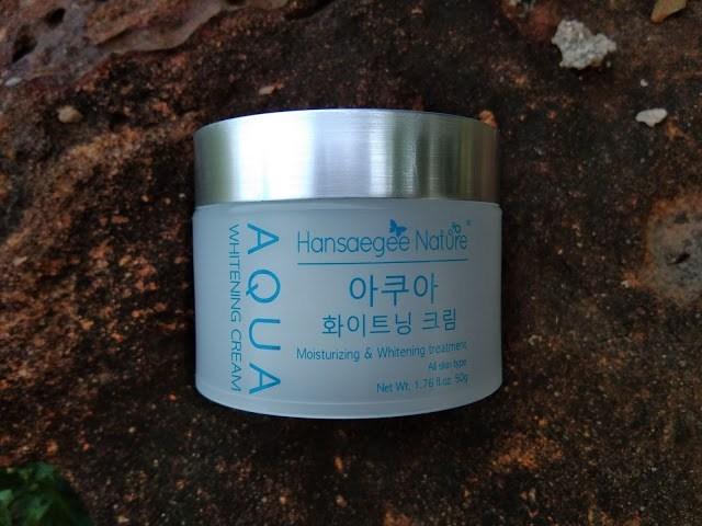 Pelembab Muka untuk Kulit Kering – Hansaegee Nature Aqua Whitening Cream
