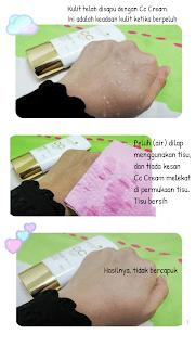 Cara Penggunaan CC Cream 5