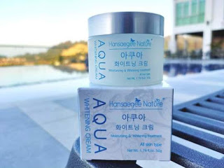 Hansaegee Nature Aqua Whitening Cream
