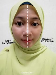 Review Fungsi CC Cream yang Tidak Berminyak 3