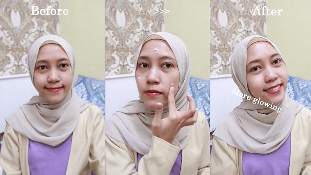 Cara Pakai Pelembap muka Aqua whitening Cream