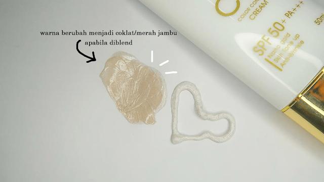 Gold Nano CC Cream (blend)