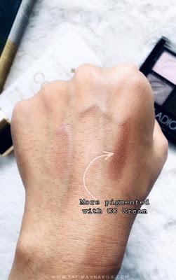 jadikan CC cream ni sebagai makeup base