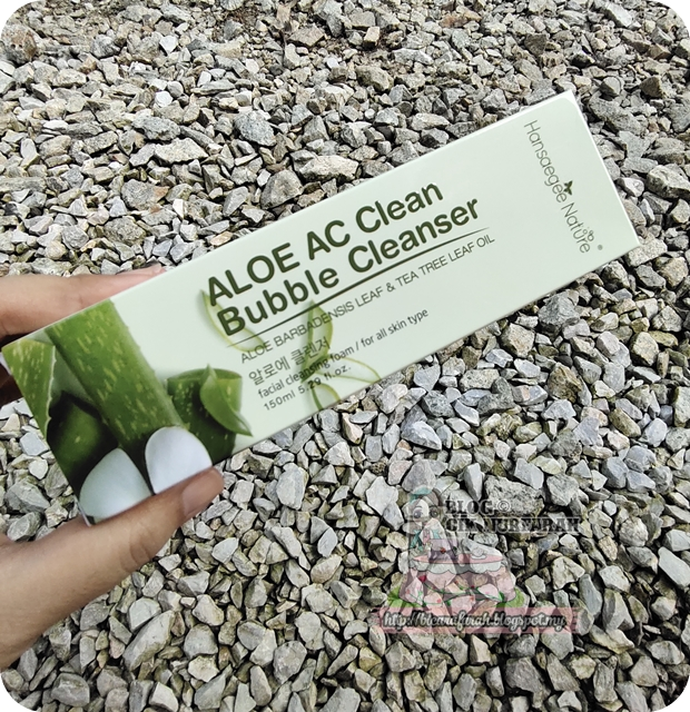 Aloe AC Clean Bubble Cleanser