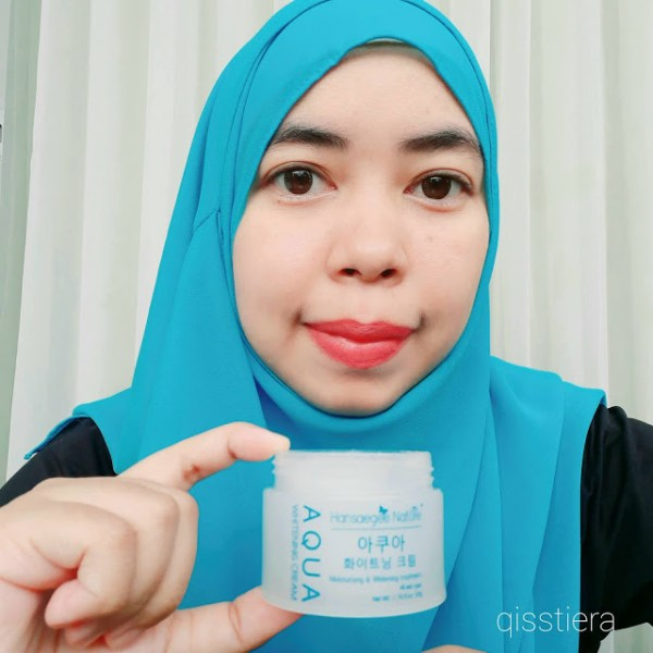Aqua Whitening Cream Hansaegee Nature