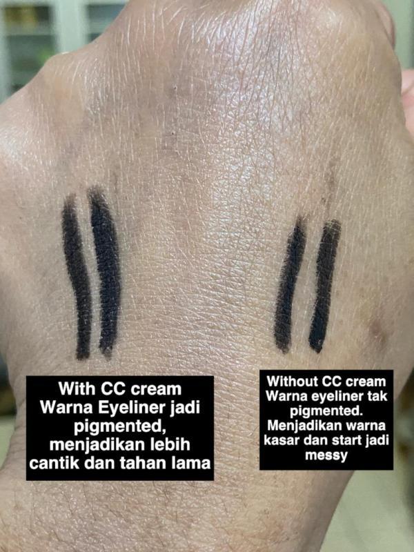 CC CREAM DENGAN SPF50 YANG TAK MELEKIT & SENANG DIGUNA
