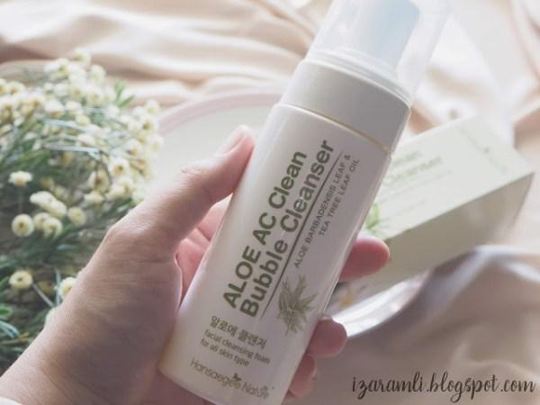 Aloe AC Bubble Cleanser Packaging