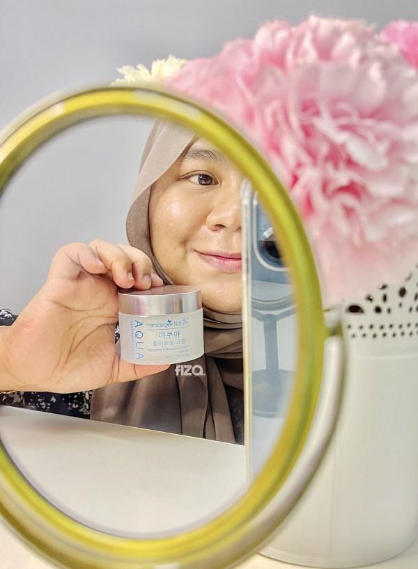 hansaegee nature-aqua whitening cream review