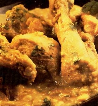 dal chicken