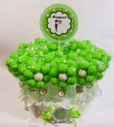 Marshmallow a forma di torta hansel e gretel for Fiori verdi