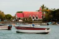 Fischerboote am Cap Malheureux