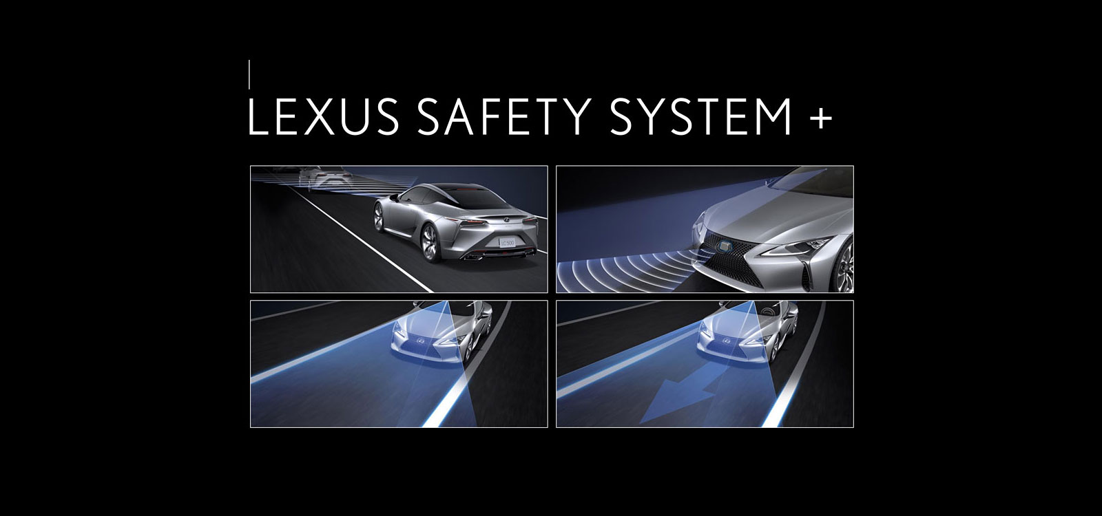 Lexus Safety System+ standard on all MY2020