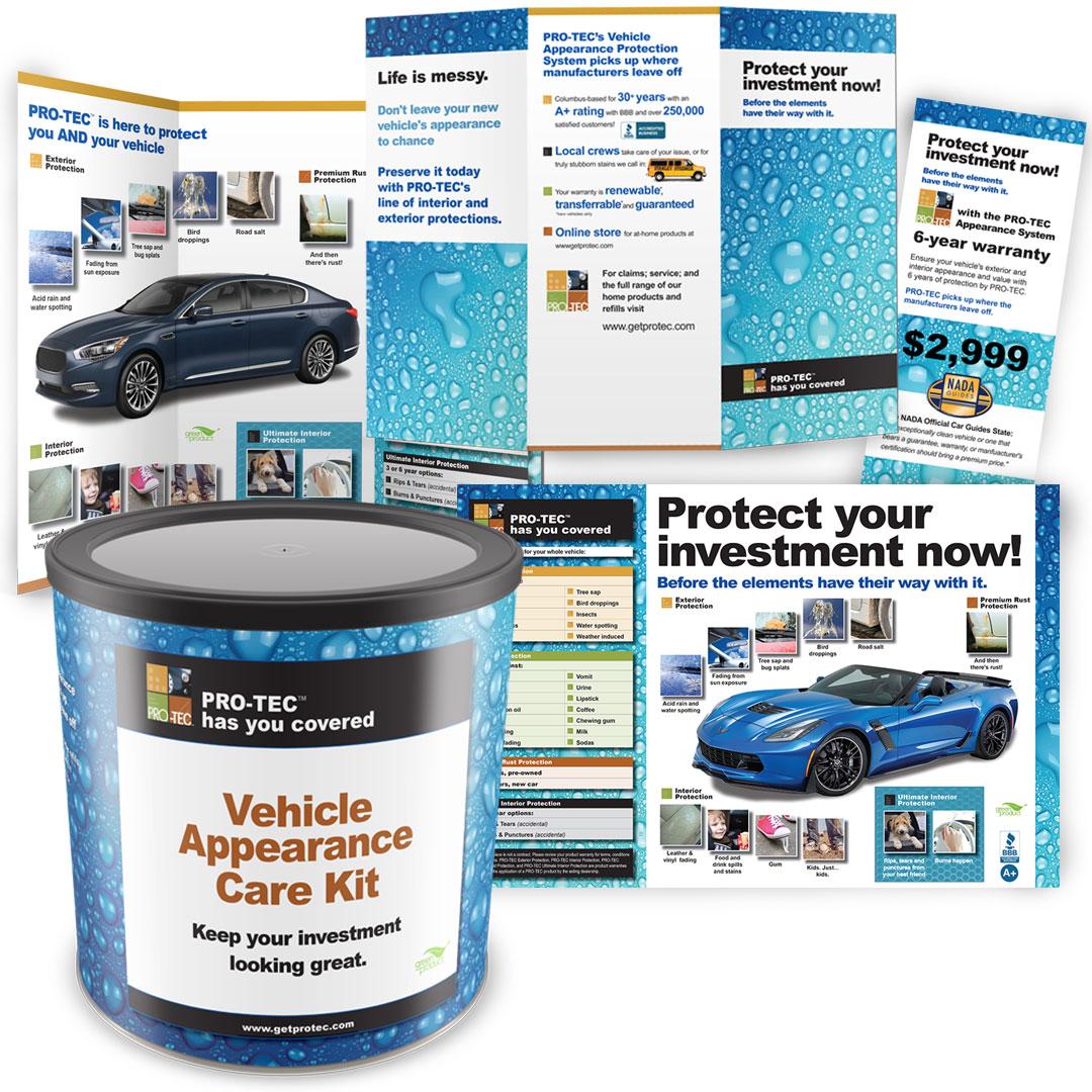 Downey Auto Care Marketing Materials