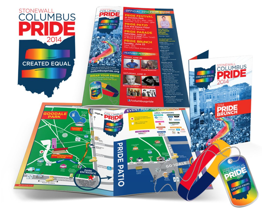 Stonewall Columbus Pride 2014 Materials