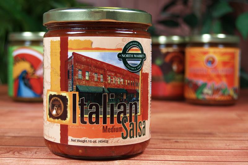 CaJohns Italian Salsa Label