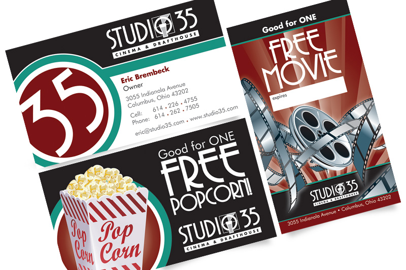 Studio 35 Business Cards