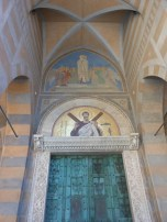 doors to the cathedral